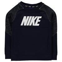Bluza de trening Nike AV15 Pro cu guler rotund baietei