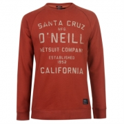 Bluza de trening ONeill Cruz cu guler rotund pentru Barbati
