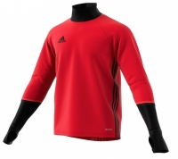 Bluza de trening antrenament adidas CONDIVO 16 rosu / negru S93542 barbati teamwear adidas teamwear