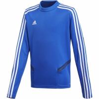 Bluza de trening Tricouri antrenament Adidas Tiro 19 albastru DT5279 copii