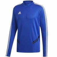 Bluza de trening Tricouri antrenament barbati Adidas Tiro 19 albastru DT5277