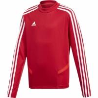 Bluza de trening antrenament For Adidas Tiro 19 rosu D95939 baiat copii teamwear adidas teamwear