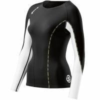 Bluza cu maneca lunga Skins Dnamic termic Shirt - DT00020050006 femei pentru copii