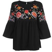 Bluza Full Circle Embroidered pentru Femei