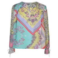 Bluza JUST CAVALLI cu Maneca Lunga Multi Pattern