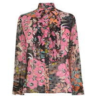 Bluza JUST CAVALLI Floral Pussybow