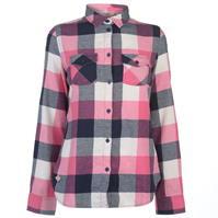 Camasi cu maneca lunga Lee Cooper Flannel pentru Femei
