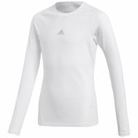 Bluza maneca lunga Adidas Alphaskin Sport alb CW7325 pentru copii teamwear adidas teamwear