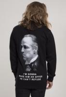 Bluza maneca lunga Godfather Refuse negru Merchcode