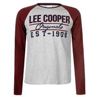 Bluza maneca lunga Lee Cooper Originals Raglan