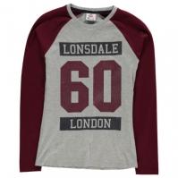 Bluza maneca lunga Lonsdale Raglan pentru Femei