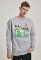 Bluza maneca lunga Looney Tunes Crew gri Merchcode