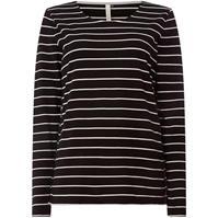 Bluza maneca lunga Maison de Nimes cu dungi Top