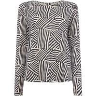 Bluza maneca lunga Maison de Nimes Printed