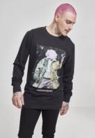 Bluza maneca lunga MGK XXX negru Merchcode