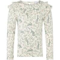Bluza maneca lunga Rose and Wilde Rabbit Floral