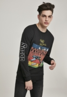 Bluza maneca lunga Snoop Doggystyle negru Merchcode