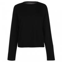 Bluza maneca lunga SoulCal Plain Crop pentru Femei