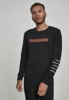 Bluza maneca lunga Thugger Childrose negru Merchcode