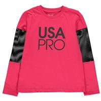 Bluza maneca lunga USA Pro pentru fetite