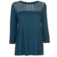 Bluza maneca trei sferturi Full Circle Lace pentru Femei