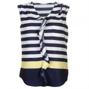 Bluza Miso Printed Ruffle pentru Femei