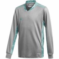 Bluza pentru portar Adidas AdiPro 20 Youth cu maneca lunga Youth cu maneca lunga gri-albastru FI4197