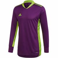 Bluza pentru portar Portar Adidas AdiPro 20 cu maneca lunga mov FI4194