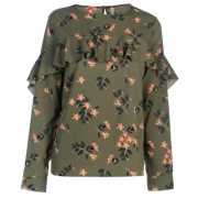 Bluza Rock and Rags Printed Frill