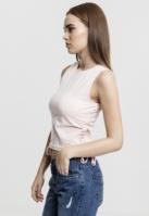 Bluza scurta cu siret pentru Femei roz Urban Classics