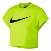 Bluza scurta Nike Swoosh pentru Femei