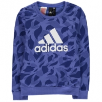 Bluza sport adidas pentru fetite