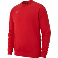 Bluza sport barbati Nike M CRW FLC TM Club 19 rosu AJ1466 657