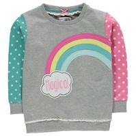 Bluza sport Crafted Crew Child pentru fete