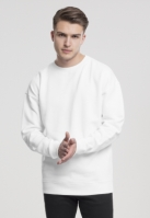Bluza sport cu maneca lunga alb Urban Classics