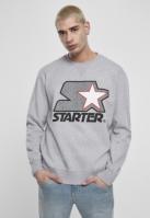 Bluza sport cu maneca lunga Starter Multicolored Logo deschis-gri
