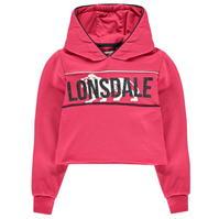 Bluze de hanorac Lonsdale Crop pentru fetite