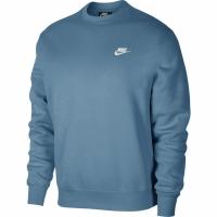 Bluza sport Nike Club Crew BB albastru BV2662 424 pentru Barbati