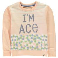 Bluza de trening Penguin Im Ace pentru fete pentru Bebelusi