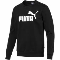 Bluza sport Puma Essentials barbati Logo Crew Fl negru 851747 01