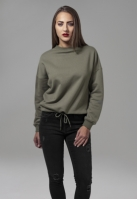 Bluza sport supradimensionata pentru Femei oliv Urban Classics