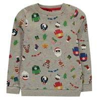 Bluza tricot cu guler rotund Star pentru copii