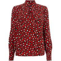 Bluza Woven Tops Big button