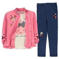 Bluze Set Crafted 3 Piece pentru fete pentru Bebelusi