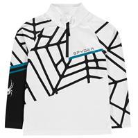 Bluze cu fermoar Spyder Hideout Half pentru baieti