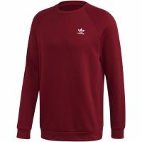 Bluze cu guler rotund Adidas Essential visiniu FQ3344