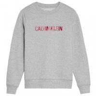 Bluze cu guler rotund Calvin Klein Brushed