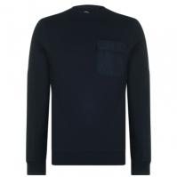 Bluze cu guler rotund Fabric Utility pentru Barbati