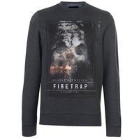 Bluze cu guler rotund Firetrap Photo pentru Barbati