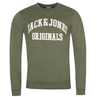 Bluze cu guler rotund Jack and Jones Originals Wall